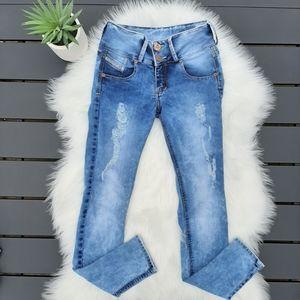 Diesel skinny ripped Jeans